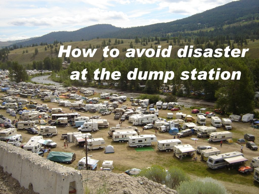 Tips for using the RV dump station