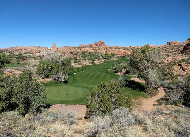 Rving and Golf Moab Utah