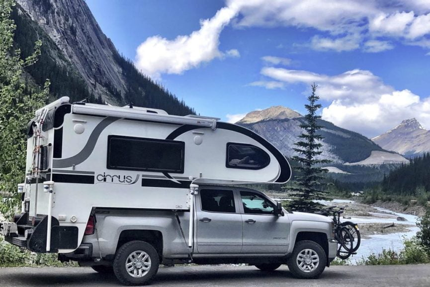 Tips for loading a truck camper