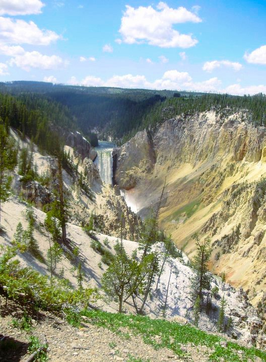 Planning a National Park Trip - Lower Falls